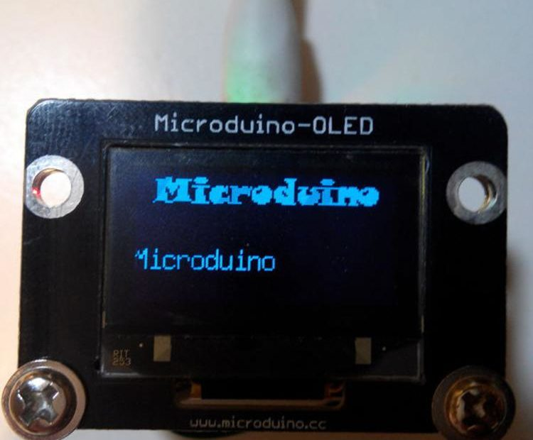 Microduino IOS Bluetooth